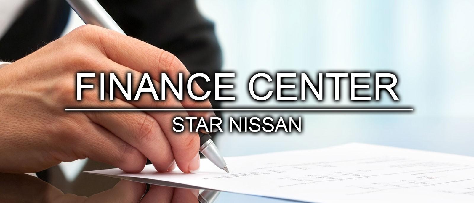 Star Nissan Finance Center