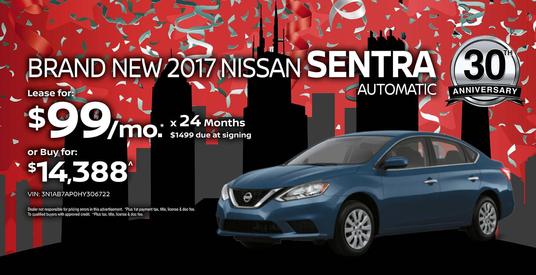 2017 Nissan Altima June Sale at Star Nissan