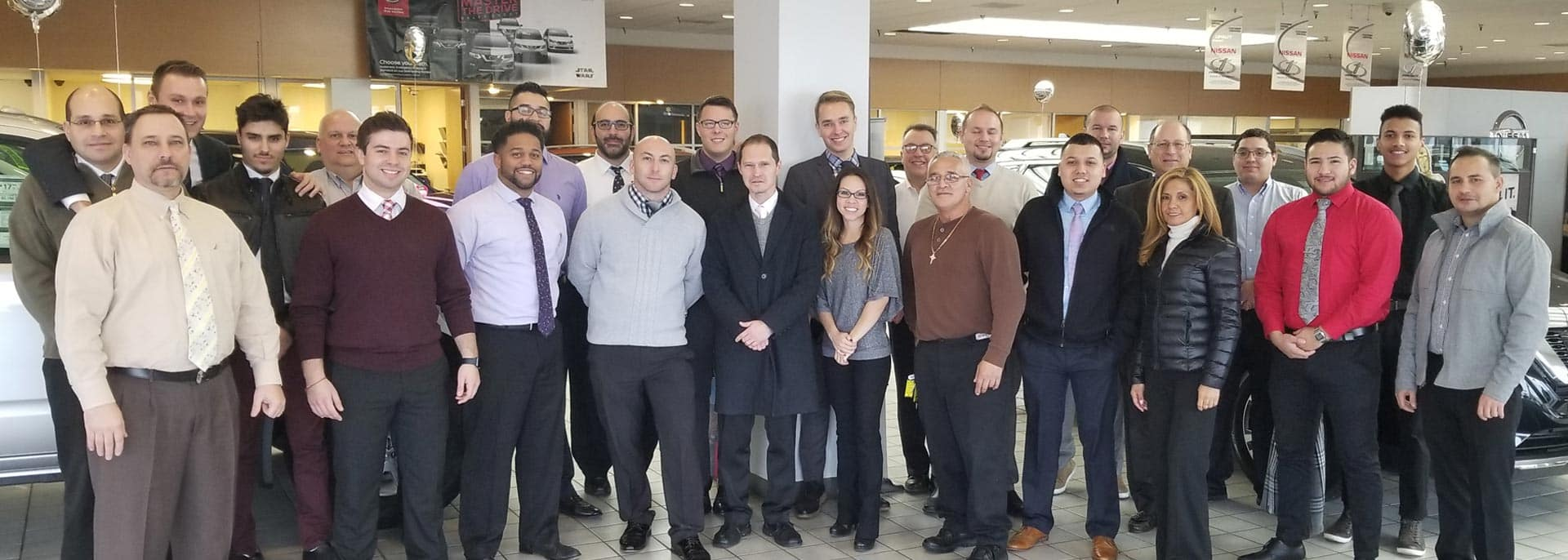 Backed By Berman Staff Photo at Star Nissan
