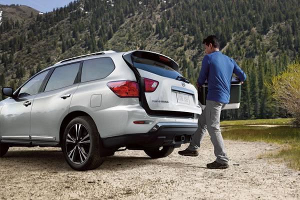 2018 Nissan Pathfinder Safety