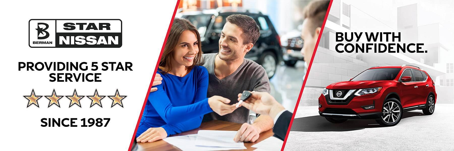 Buy and Service with Confidence at Star Nissan