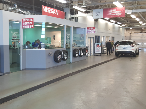 Express Service Drive at Star Nissan