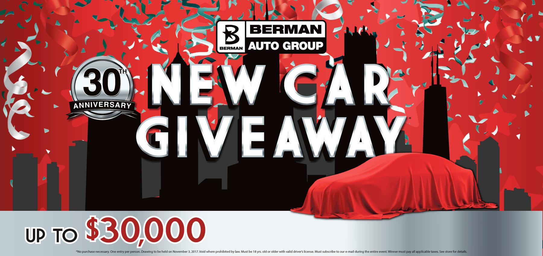 New Car Giveaway at Star Nissan!