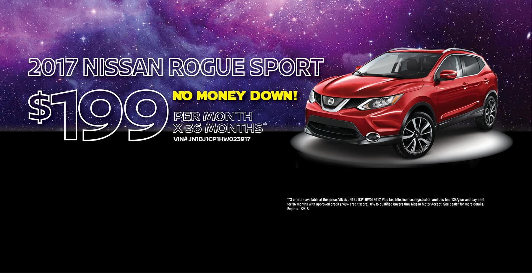 Star Nissan December Holiday Sale 2017 Nissan Rogue Sport