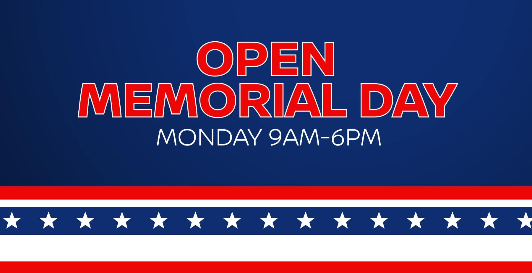 Memorial Day Sales Event at Star Nissan!