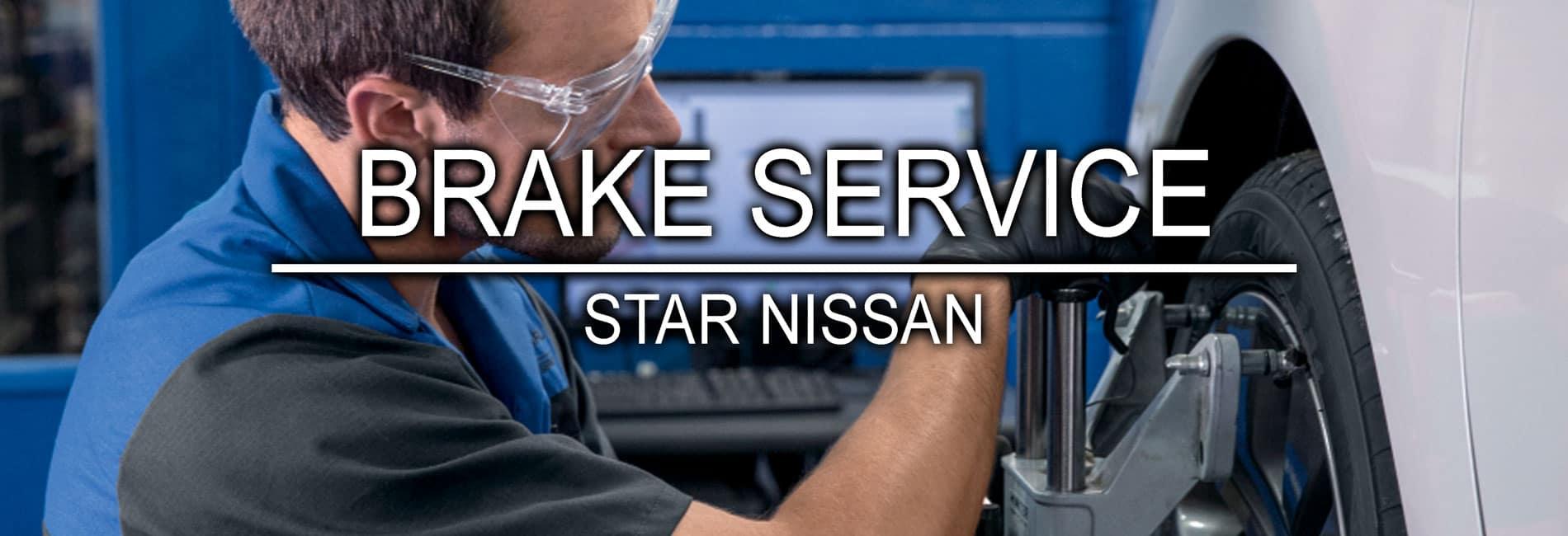 Niles Nissan Brake Service at Star Nissan