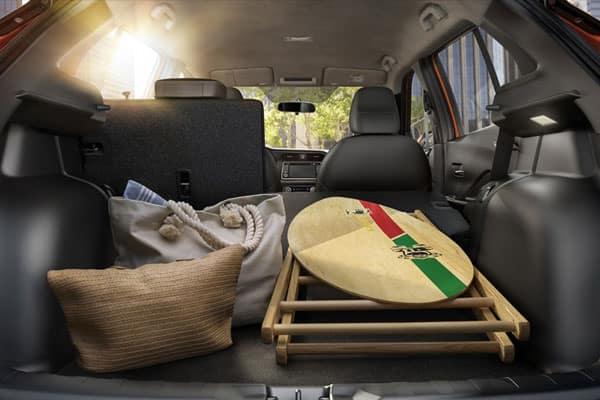 2018 Nissan Kicks Cargo & Interior