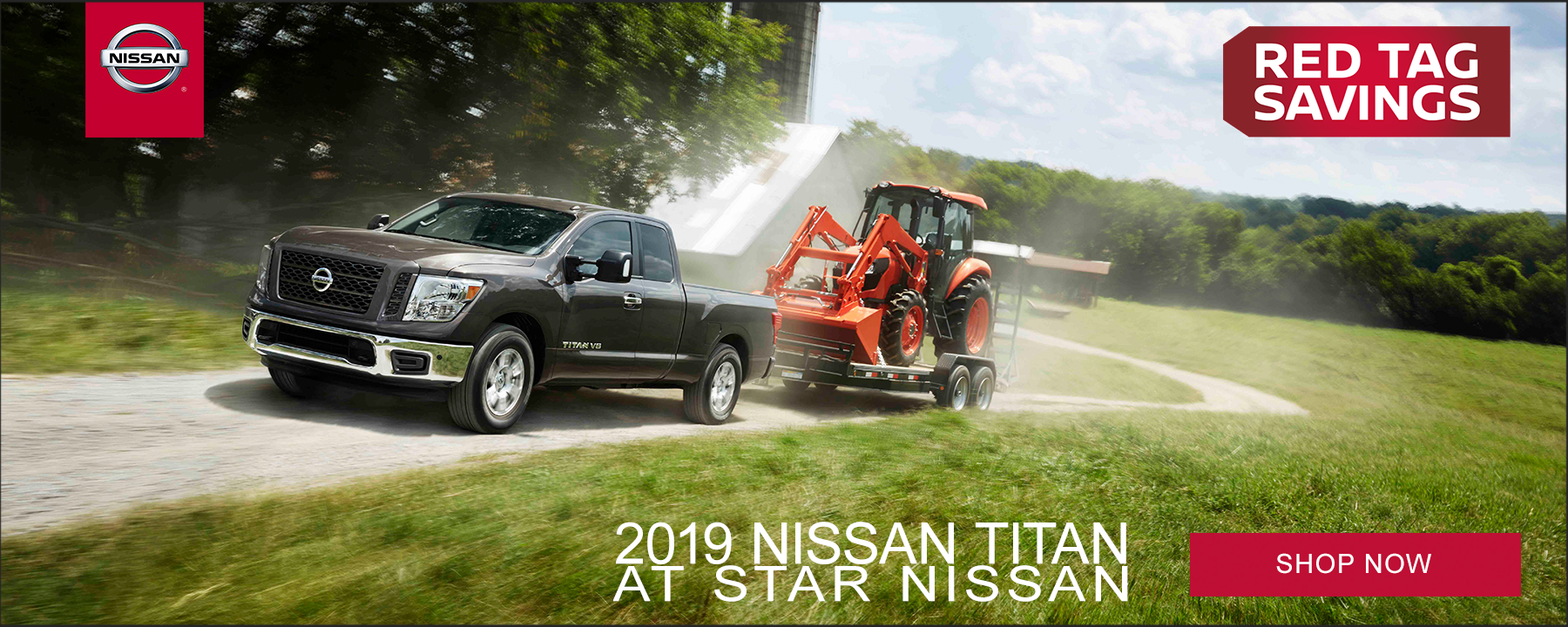 Red Tag Truck Sale on 2019 Nissan Titan at Star Nissan!