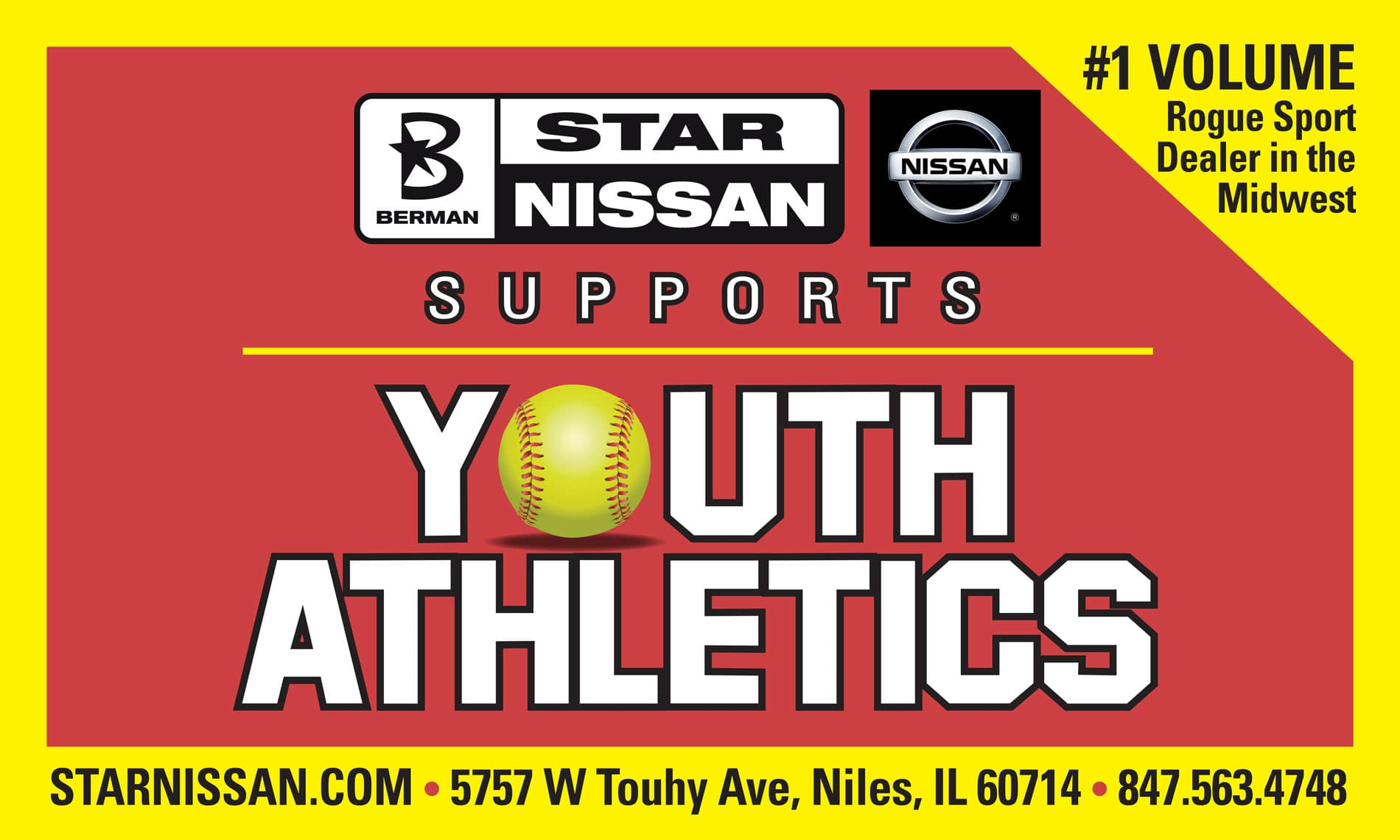 Star Nissan Supports Youth Athleteics in our community