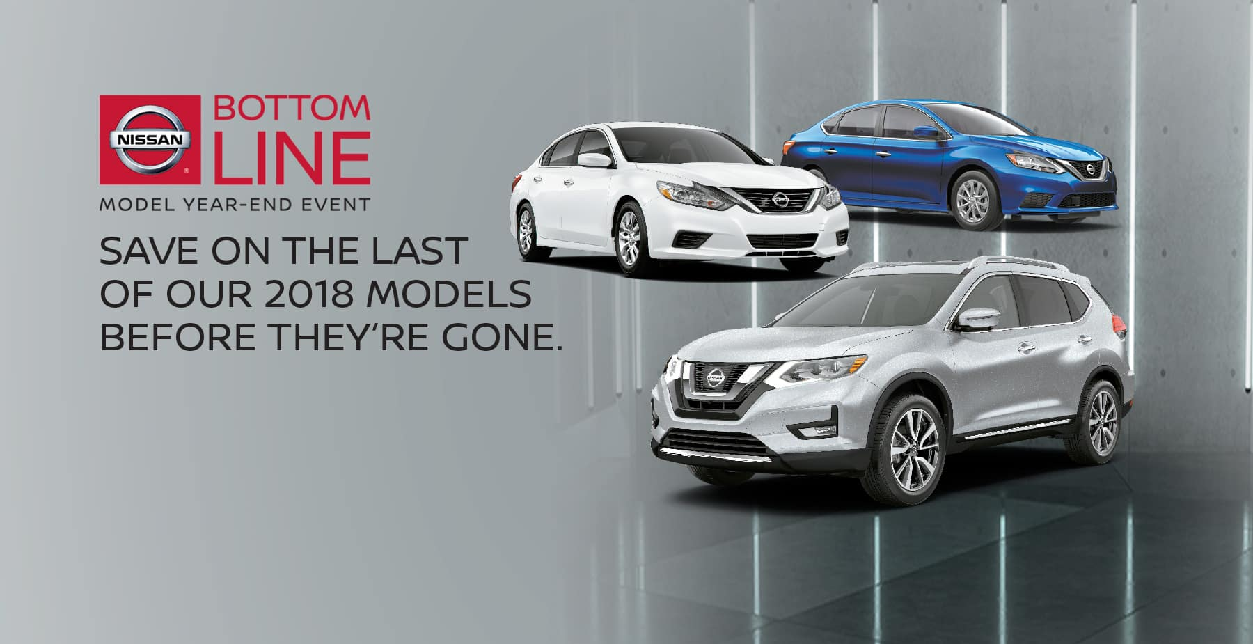 Shop Now During Nissan's Bottom Line Model Year-End Event at Star Nissan!