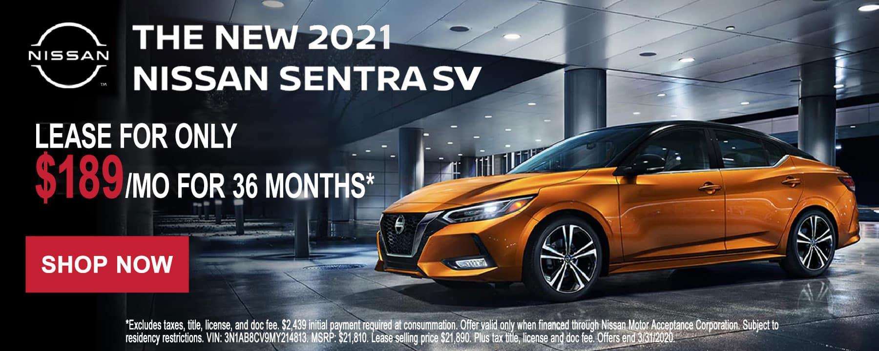 Sentra lease offer