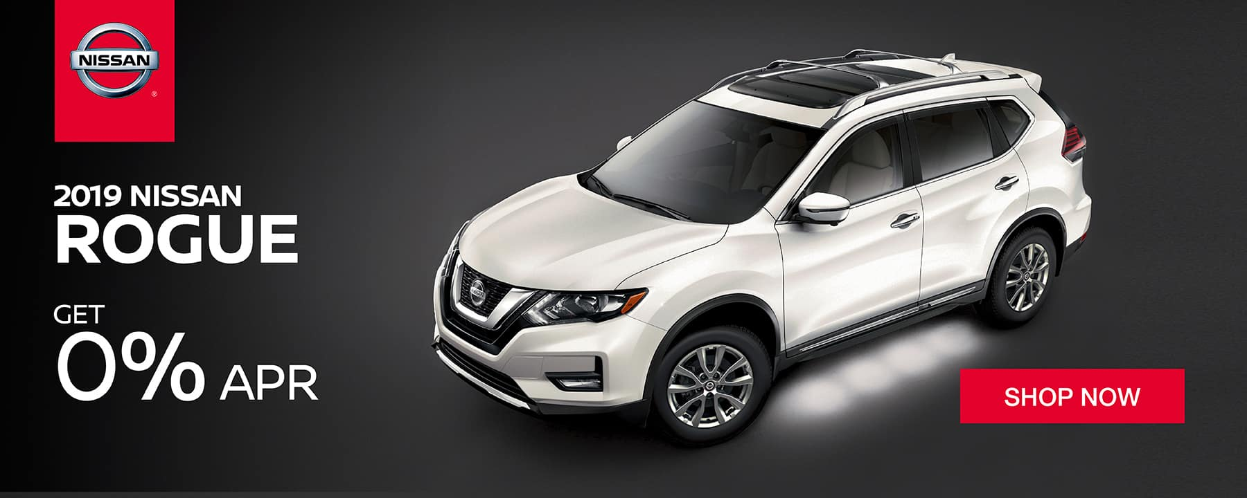 Get 0% APR Financing on the 2019 Nissan Rogue available NOW at Star Nissan!
