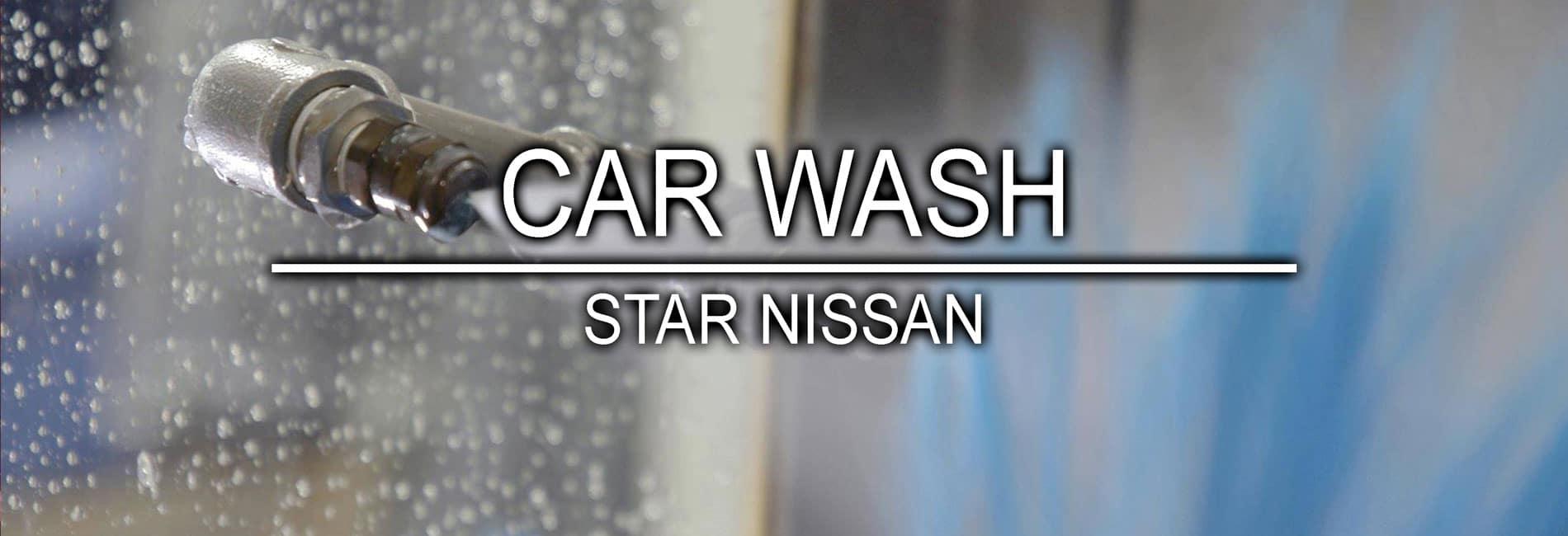 Car Wash Service at Star Nissan