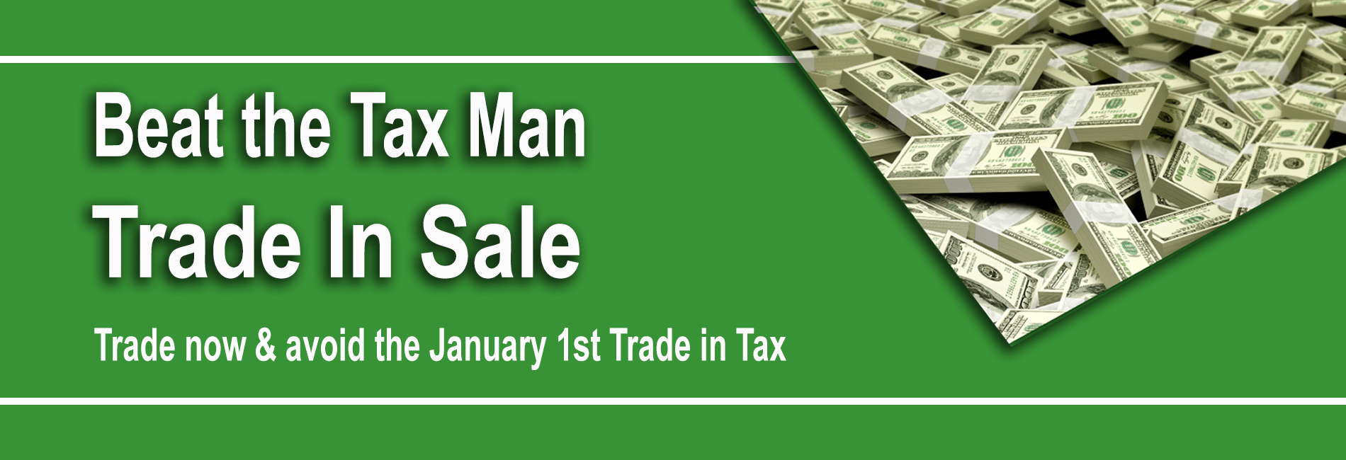 Beat the Tax Man Trade in Sale at Berman Auto Group