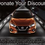 Donate Your Discount at Star Nissan