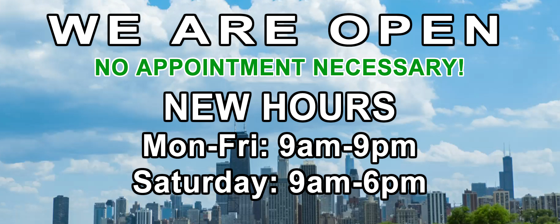 New Hours at Star Nissan