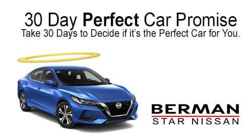 Berman 30-Day Perfect Car Promise