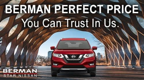 Berman Perfect Price at Star Nissan