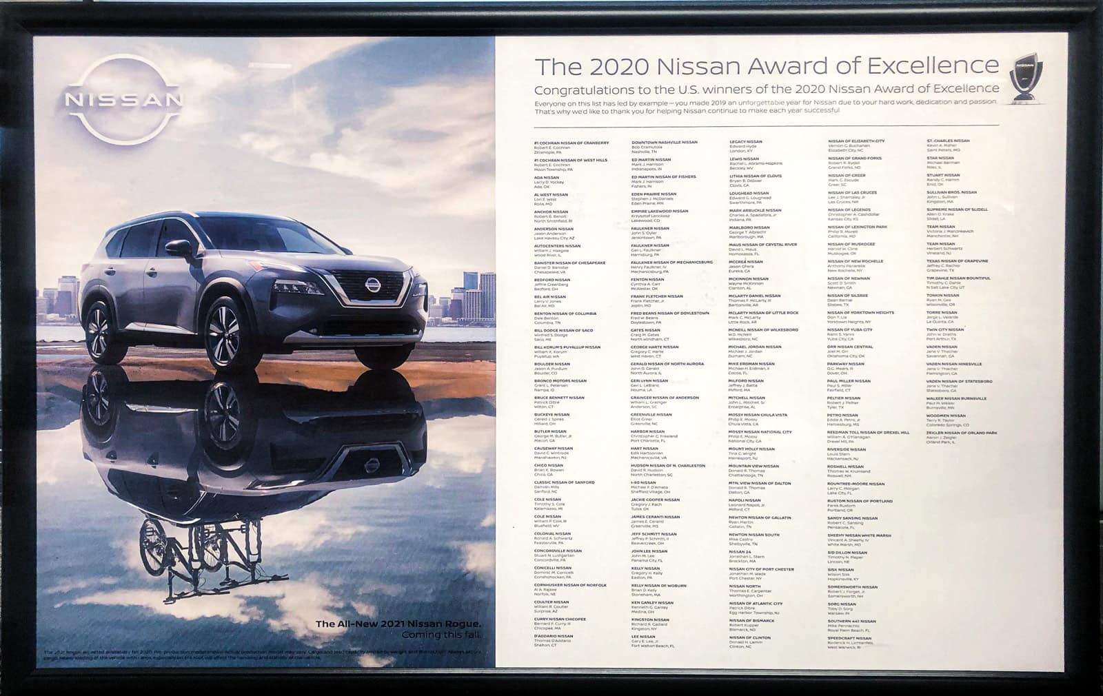 Star Nissan Receives Nissan Award of Excellence