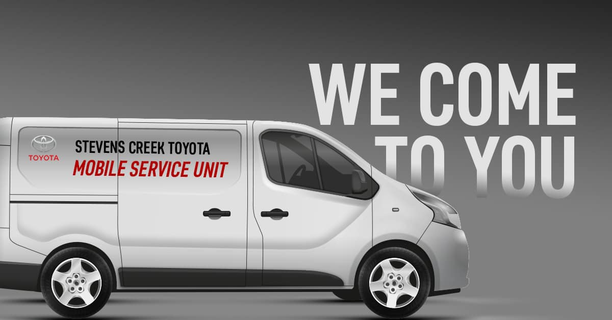Toyota Mobile Service Unit | Stevens Creek Toyota