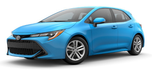2019 Corolla Hatchback SE Lease Offer of Just $219 a mo. + tax or Get 1.9% APR for 60 Mo. on approved credit. Call us Direct at 408-984-1234