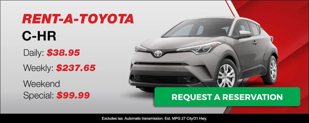 Stevens Creek Toyota Rental Car C-HR