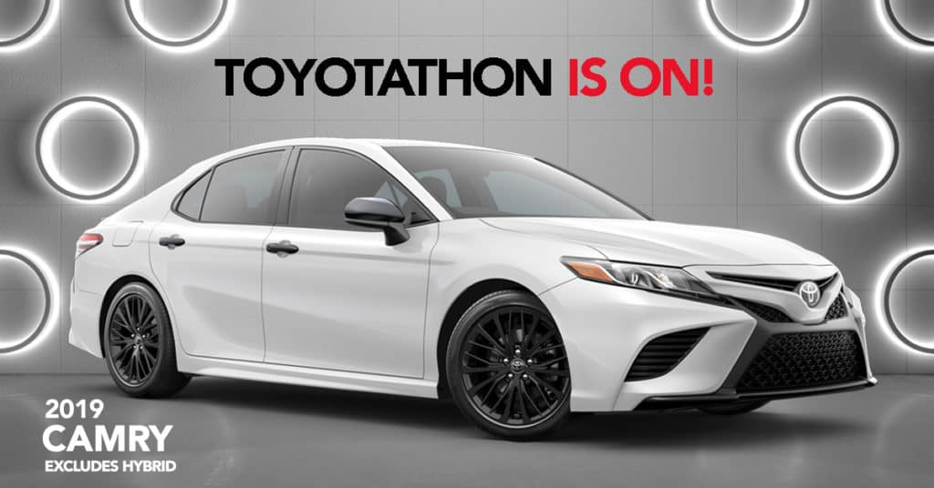 2019 Camry - 0% APR for 60 Months or $2,000 Customer Cash (excludes Hybrid)