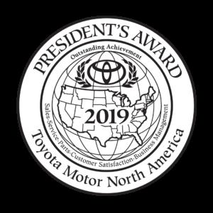 Toyota Presidents Award