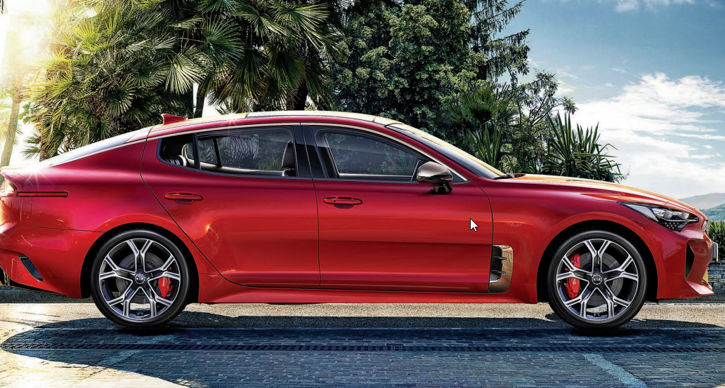 Kia Stinger at Sunshine Kia of Miami