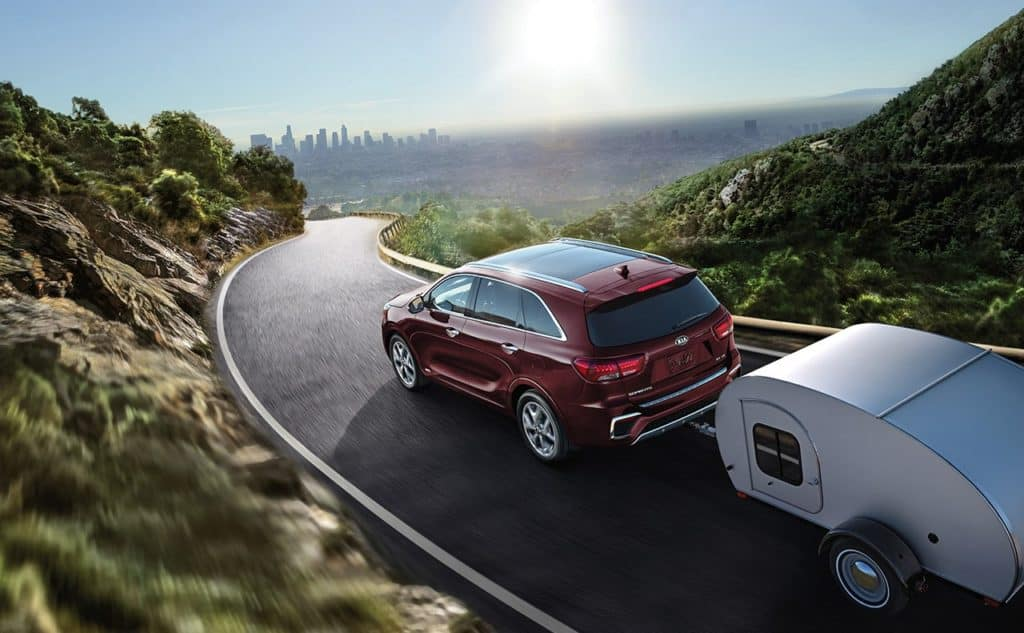 2019 Kia Sorento Towing Trailer