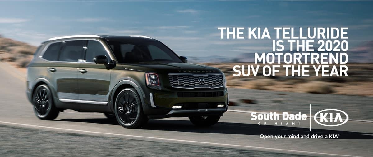 2020 Kia Telluride SUV of the Year Award