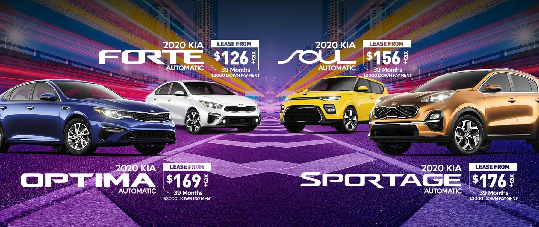 New Kia Offers for February 2020