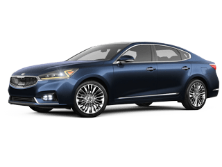 Angled view of the 2019 Kia Cadenza