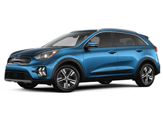 Angled view of the 2020 Kia Niro
