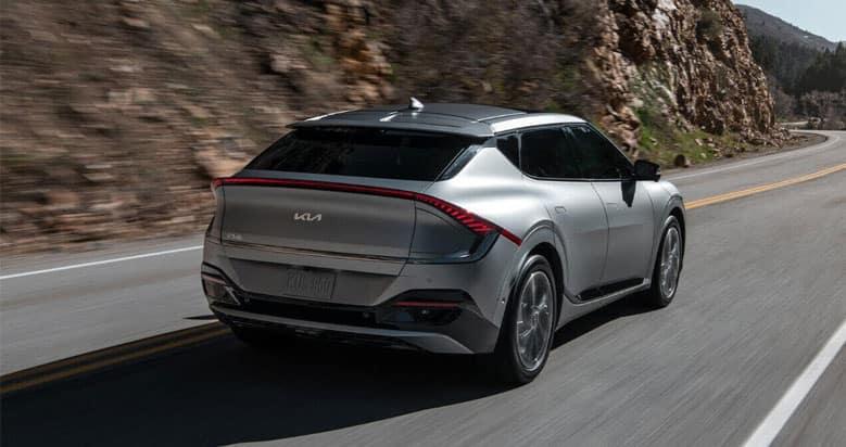 2022 Kia EV6 Driving
