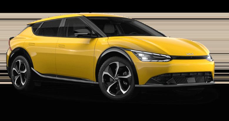 2022 Kia EV6 in Urban Yellow