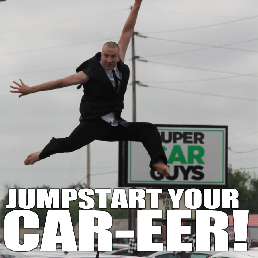 We Are Hiring Super Car Guys