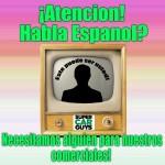 Bilingual TV Spokesperson Needed