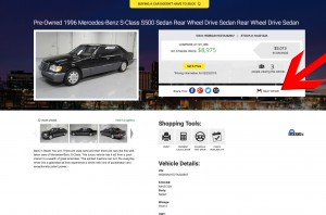 Super Car Guys Vehicle Detail Page