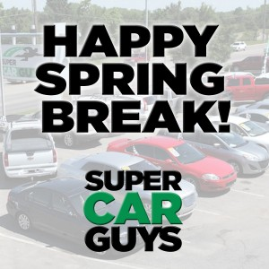 happy spring break super car guys