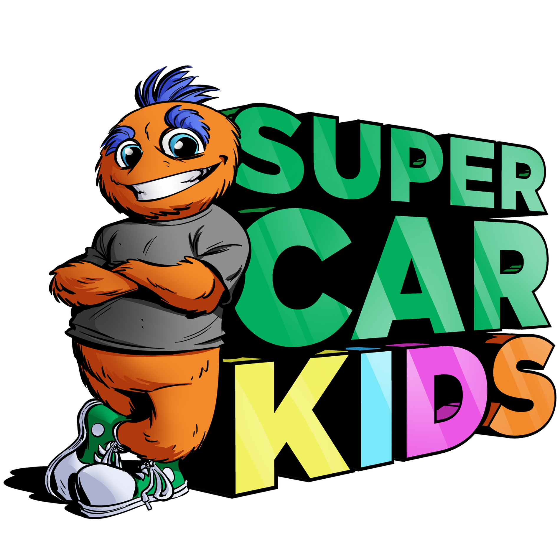 Super Car Kid Logo