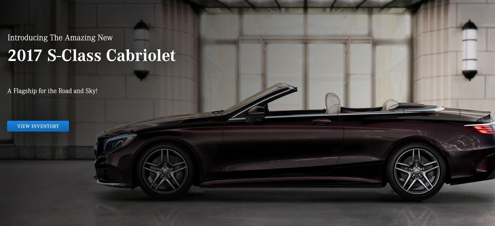 Tafel Motors Sliders 082316_0000_2017 s class cabriolet