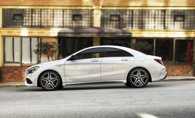 Mercedes model lineup coupes sedans suvs and more for Mercedes benz cla 2 door