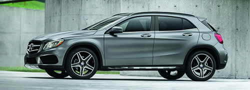 Lease a 2017 GLA 250 4MATIC®