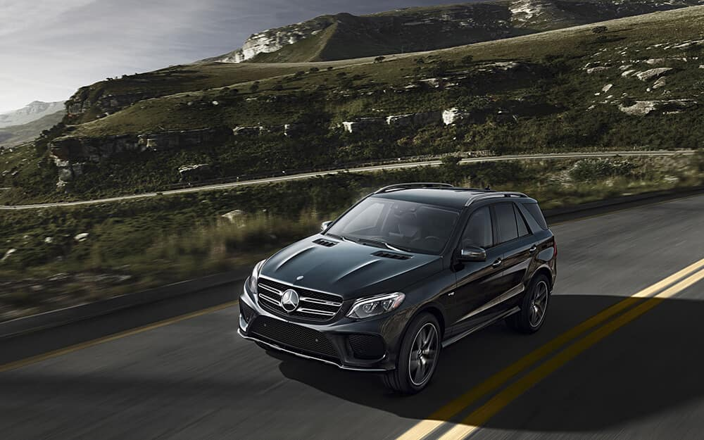 2018 Mercedes-Benz AMG GLE 43 Exterior while driving