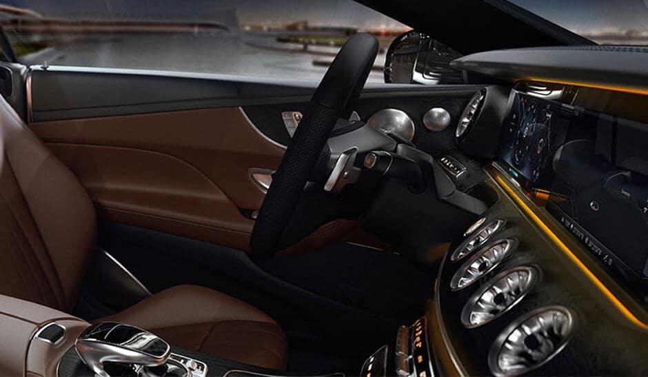 2018 Mercedes-Benz E-Class Coupe dashboard