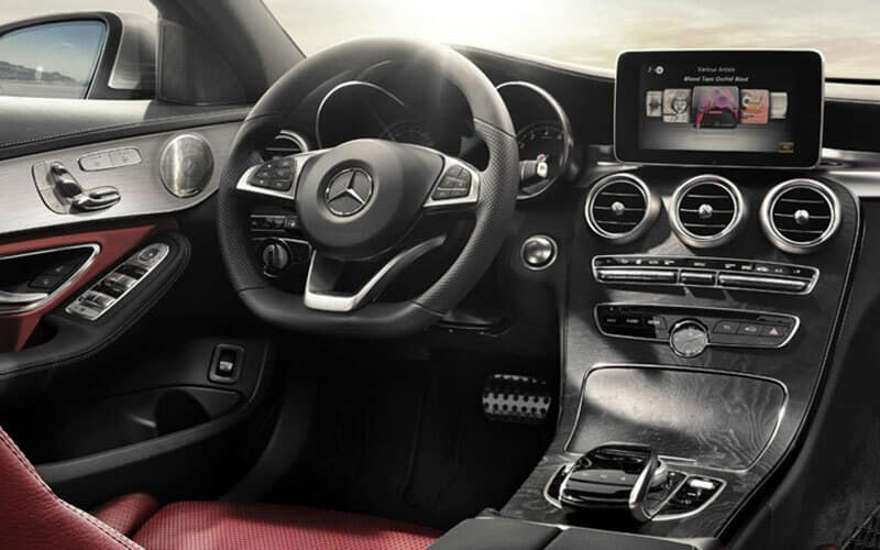 2018 Mercedes-Benz C Class Interior Tech