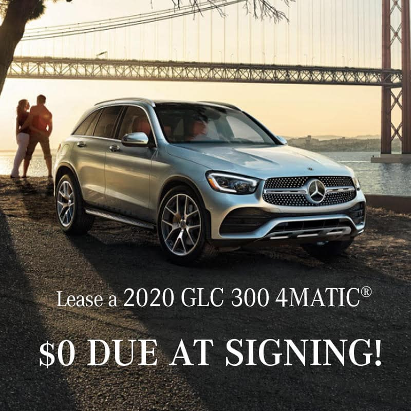 Lease a 2020 GLC 300 4MATIC® SUV $0 Due at Signing!