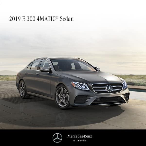 2019 E300 Sedan 4MATIC®