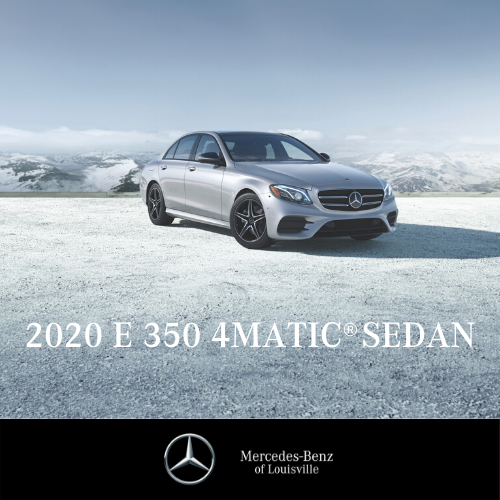 Lease a 2020 E 350 4MATIC® Sedan